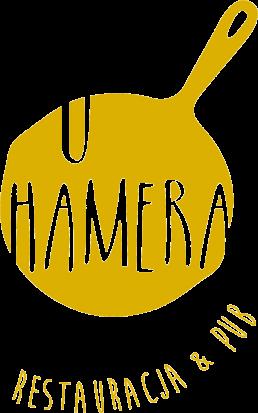 Logo U Hamera restauracja nad jeziorem Mikołajki